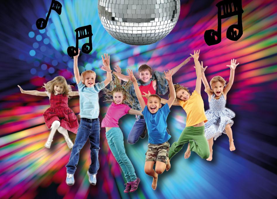Kinder Disco am 14. November